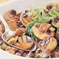 Teriyaki Ginger Mushrooms